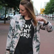 Half Bun, Fashion, Pull & Bear, Bomberjacke, Bomber Jacket, Streetstyle