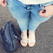 Crop Top, Cluse Watch, Ripped Jeans, Summerlook, Brandfield, Cluse